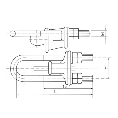 Guy Wire Fittings Power Line Fittings Electrical Power